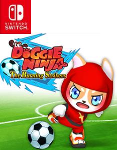 Doggie Ninja The Burning Strikers (NSP) [Switch] [MF-MG-GD]