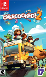 Overcooked! 2 (NSP) [UPDATE + DLC] [Switch] [MF-MG-GD]