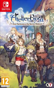 Atelier Ryza: Ever Darkness & the Secret Hideout NSP UPDATE DLCs SWITCH
