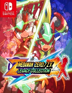 Mega Man Zero/ZX Legacy Collection (NSP) [UPDATE] [DLC] [Switch] [MF-MG-GD]
