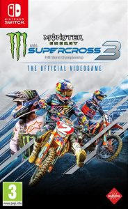 Monster Energy Supercross – The Official Videogame 3 (NSP) [UPDATE] [Switch] [MF-MG-GD]