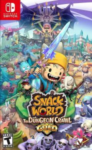 SNACK WORLD: THE DUNGEON CRAWL GOLD (NSP) [Switch] [MF-MG-GD]