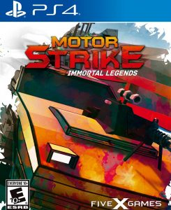Motor Strike: Immortal Legends [PKG] [v1.06] [PS4] [EUR] [MF-MG-GD]