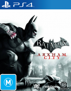 Batman Return to Arkham City [PKG v1.02] [PS4] [EUR] [MF-MG-GD]