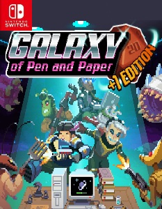 Galaxy of Pen & Paper +1 Edition (NSP) [Switch] [MF-MG-GD]