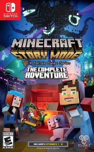 Minecraft Story Mode: The Complete Adventure (NSP) [Switch] [MF-MG-GD]