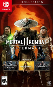 Mortal Kombat 11: Aftermath (NSP) [v1.0.18] [ALL DLCs] [Switch] [MF-MG-GD]