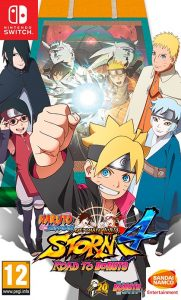 NARUTO SHIPPUDEN: Ultimate Ninja STORM 4 ROAD TO BORUTO (NSP) [USA] [Switch]