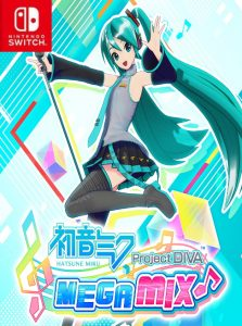 Hatsune Miku: Project DIVA Mega Mix (NSP) [UPDATE] [DLC] [US] [Switch] [MF-MG-GD]