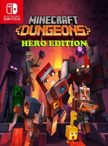 Minecraft Dungeons: Hero Edition (NSP) [UPDATE] [DLCs] [Switch] [MF-MG-GD]