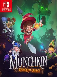 Munchkin: Quacked Quest (NSP) [UPDATE] [Switch] [MF-MG-GD]