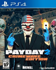 PAYDAY 2: CRIMEWAVE EDITION [PKG] [v1.20+ALL DLC] [PS4] [EUR] [MF-MG-GD]