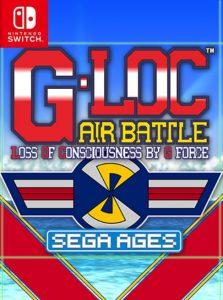 SEGA AGES G-LOC AIR BATTLE (NSP) [Switch] [MF-MG-GD]