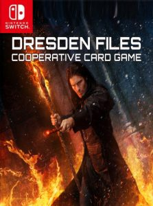 The Dresden Files Cooperative Card Game (NSP) [Switch] [MF-MG-GD]