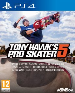 Tony Hawk's Pro Skater 5 [PKG] [UPDATE] [PS4] [EUR] [MF-MG-GD]