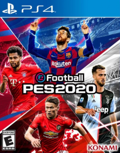 PES 2020 [PKG] [UPDATE] [PS4] [US] [MF-MG-1F]