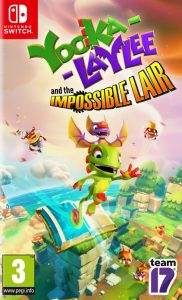 Yooka-Laylee and the Impossible Lair (NSP) [UPDATE] [DLC] [Switch] [MF-MG-GD]