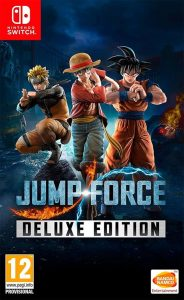 Jump Force: Deluxe Edition (NSP) [UPDATE] [DLCs] [Switch] [MF-MG-GD]