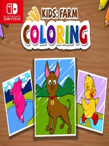KIDS: FARM COLORING (NSP) [Switch] [MF-MG-GD]