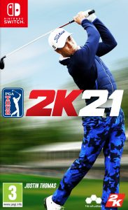 PGA TOUR 2K21 NSP UPDATE DLCs SWITCH