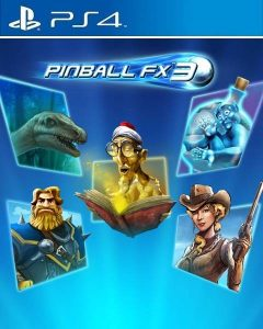 Pinball FX3 [PKG] [UPDATE] [DLCs] [US] [PS4] [MF-MG-1F]
