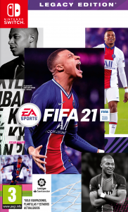 FIFA 21 Legacy Edition (NSP) [UPDATE] [Switch] [MF-MG-GD]