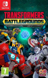 TRANSFORMERS: BATTLEGROUNDS (NSP) [UPDATE] [DLCs] [Switch] [MF-MG-GD]