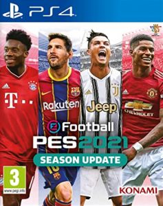 EFootball PES 2021 [PKG] [SEASON UPDATE] [PS4] [USA] [MF-MG-1F]