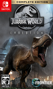 Jurassic World Evolution: Complete Edition (NSP) [UPDATE] [Switch] [MF-MG-GD]