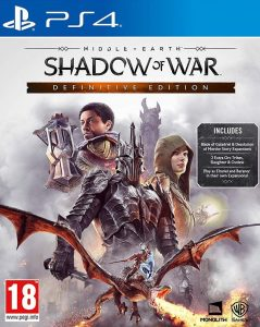 Middle-earth: Shadow of War Definitive Edition [PKG] [UPDATE] [DLCs] [PS4] [EUR] [MF-MG-1F]