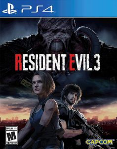 RESIDENT EVIL 3 PKG UPDATE PS4 USA