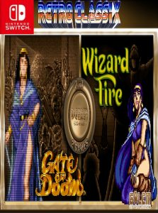 Retro Classix 2-in-1 Pack: Gate of Doom & Wizard Fire (NSP) [Switch] [MF-MG-GD]