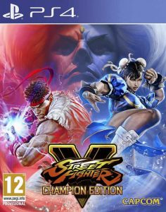 Street Fighter V: Champion Edition PKG DLCs PS4 EUR