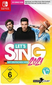 Let's Sing 2021 mit deutschen Hits NSP UPDATE SWITCH