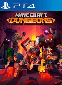 Minecraft Dungeons PKG PS4 USA