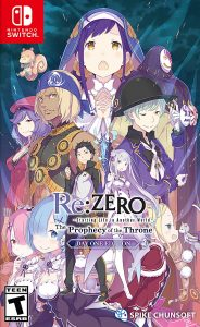 Re:ZERO -Starting Life in Another World- The Prophecy of the Throne NSP UPDATE SWITCH