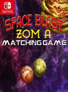 Space Blast Zom A Matching Game NSP SWITCH