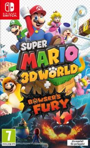 Super Mario 3D World + Bowser's Fury NSP UPDATE SWITCH