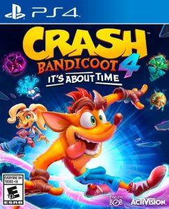 Crash Bandicoot 4: It's About Time PKG PS4 UPDATE EUR