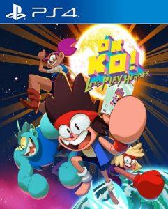 K K.O.! Let's Play Heroes PKG UPDATE PS4 EUR