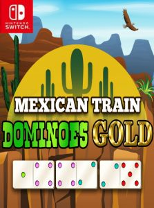 Mexican Train Dominoes Gold NSP SWITCH