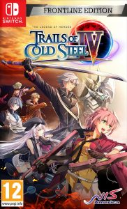 The Legend of Heroes: Trails of Cold Steel IV NSP UPDATE DLCs SWITCH