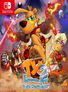 TY the Tasmanian Tiger 2: Bush Rescue HD NSP UPDATE SWITCH