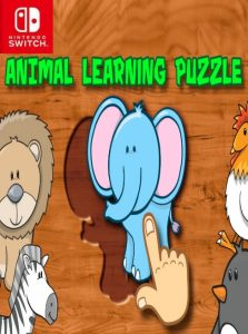 Animal Learning Puzzle for Toddlers and Kids NSP SWITCH