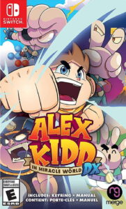 Alex Kidd in Miracle World DX NSP UPDATE SWITCH