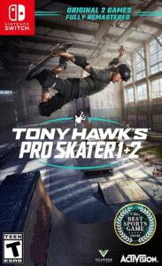 Tony Hawk's Pro Skater 1 + 2 NSP UPDATE DCLs SWITCH