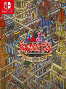 Labyrinth City: Pierre the Maze Detective NSP UPDATE SWITCH