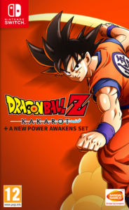 DRAGON BALL Z: KAKAROT + A NEW POWER AWAKENS SET NSP UPDATE SWITCH